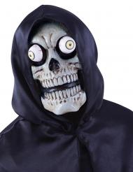 Skelettmask med vilda ögon