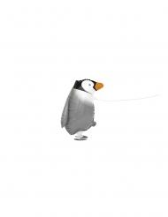 Vandrande pingvin aluminiumballong 48 cm