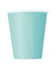 8 Mintgröna muggar 266 ml