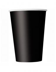 14 Svarta pappmuggar 266 ml