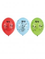 6 Bing™ Latexballonger 27 cm
