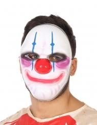 Clownmask med läskigt leende vuxen