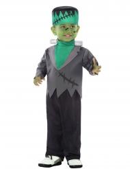 Grön monsterdräkt bebis