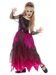 Gotisk rosa baldräkt barn