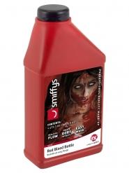 Flaska med 473 ml rött fejkblod