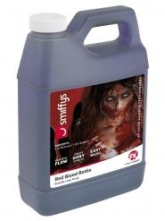 Flaska med 3,7 liter rött fejkblod