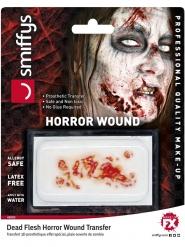 Zombiesår ansiktsprotes vuxen