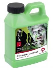 Flaska med grönt blod 236,5 ml