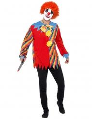 Kit för läskig clown vuxen