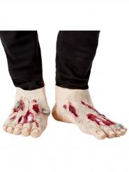 2 Zombie-skoskydd av latex vuxen