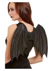 Svarta fladdermusvingar 50 cm vuxen