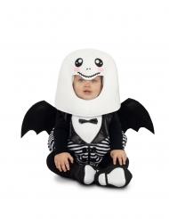 Rund spökdräkt för småbarn