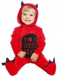 Röd djävulsdräkt bebis