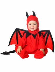 Bevingad djävulsdräkt småbarn