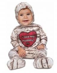 Söt mumiedräkt för småbarn