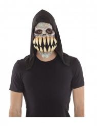 Latexmask med stora huggtänder vuxen