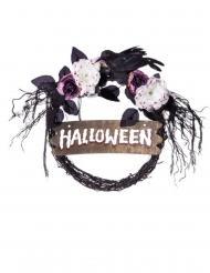 Dörrkrans Halloween 34 cm