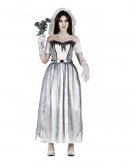 Spöklik bröllopsdräkt dam