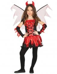 Djävulsdräkt med vingar barn