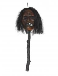 Avhugget huvud på pinne 53 cm