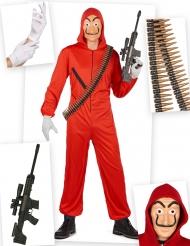 Dräktpaket röd spansk rånare