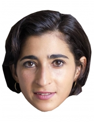 Pappmask bankrånare Alba Flores