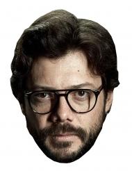 Pappmask bankrånare Professorn