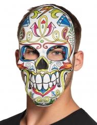 Dia de los Muertos färgglad mask