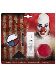 Sminksats för läskig clown
