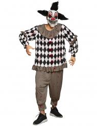 Kuslige clownen Krösus vuxendräkt