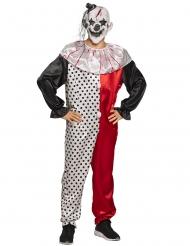 Clownen Conrad vuxendräkt