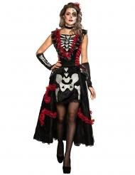 Dia de los Muertos skelettdräkt dam