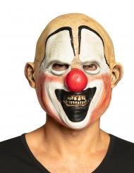 Ansiktsmask med mördarclown