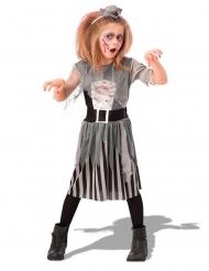 Grå zombiepirat barn