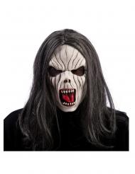 Vampyrmask med hår vuxen