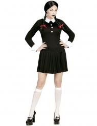 Gotisk skoluniform dam