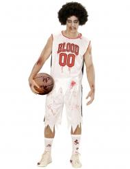 Zombifierad basketspelare herrdräkt