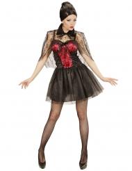 Kort vampyrklänning dam
