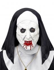 Ondskefull nunnemask med nunnedok