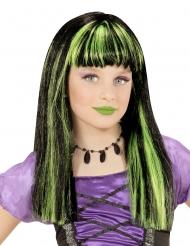 Grön häxperuk barn