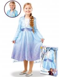 Frost 2 Elsa™ dräkt med fläta barn