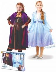 Frost 2™ Dräktpaket Elsa &Anna barn