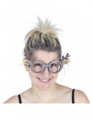 Glittriga renglasögon i vuxenstorlek