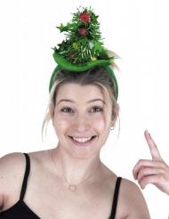 Diadem med julgran vuxen