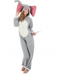 Elefanten Elvira damdräkt