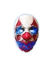 LED-mask nattens clown vuxen