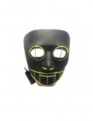 Lyxig LED-mask katt vuxen