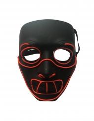 Lyxig LED-mask galning vuxen