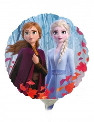 Frost 2™ liten rund aluminiumballong 23 cm