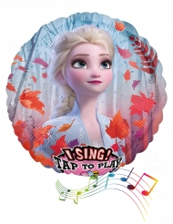 Frost 2™ musikalisk aluminiumballong 71 cm